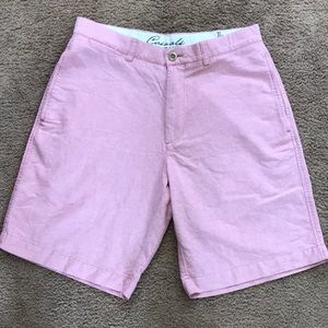 Roundtree & Yorke men's pink shorts